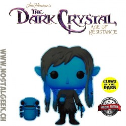 Funko Television The Dark Crystal Deet With Baby Nurlock GITD Exclusive Vinyl Figure