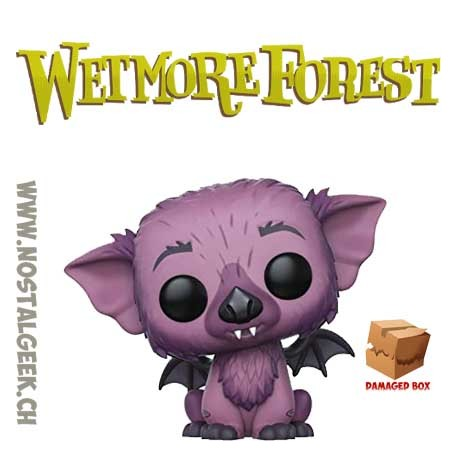 Funko Pop Monsters Wetmore Forest Bugsy Wingnut Exclusive Vinyl Figure Damaged Box