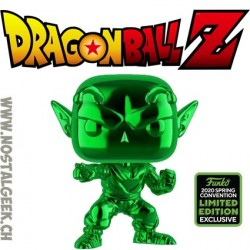 Funko Pop ECCC 2020 Dragon Ball Z Piccolo (Green Chrome) Exclusive Vinyl Figure