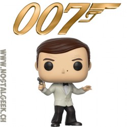 Funko Pop Movies James Bond Roger Moore From Octopussy Exclusive Vinyl Figure