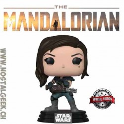 Funko Pop Star Wars The Mandalorian Cara Dune (Heavy Blaster) Edition Limitée