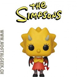 Funko Pop The Simpsons Demon Lisa Simpson Vinyl Figure