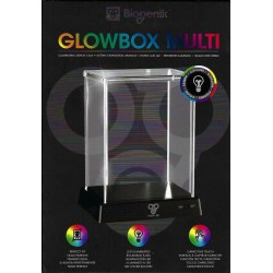 Biogenik: GlowBox Display Case Pop Protector Bleu
