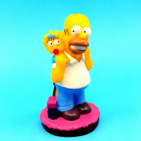 The Simpsons Homer et Maggie Simpson second hand figure (Loose)