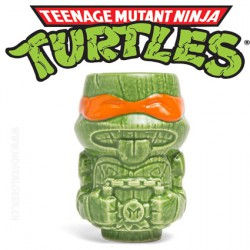 Teenage Mutant Ninja Turtles Michelangelo Geeki Tikis Mini Mug Exclusive