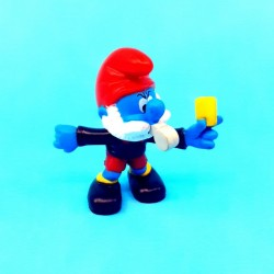 The Smurfs - Papa smurf referee second hand Figure (Loose)