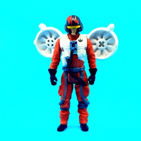 Star Wars The Force Awakens Poe Dameron Space Mission second hand action figure (Loose)