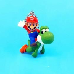 Nintendo Super Mario Bros. Yoshi et Mario porte-clé d'occasion (Loose)