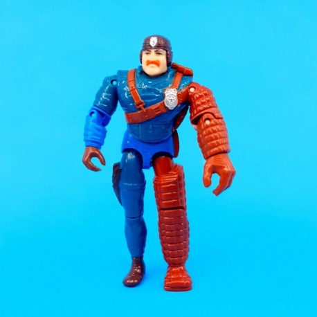 C.O.P.S. 'N' Crooks Officer Bowzer second hand figure (Loose)