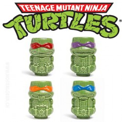 Pack Teenage Mutant Ninja Turtles Geeki Tikis Mini Mug