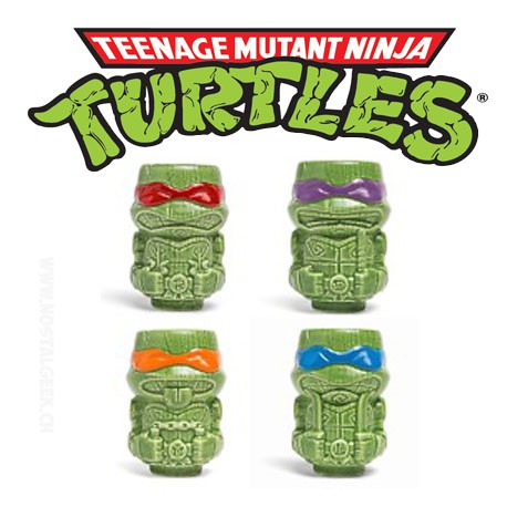 Pack TMNT Geeki Tikis Mini Mug Exclusive