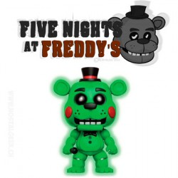 Funko Pop! Games Five Nights at Freddy's Toy Freddy GITD Exclusive