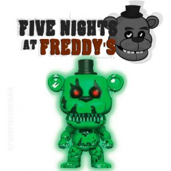 Funko Pop! Games Five Nights at Freddy's Nightmare Freddy GITD Exclusive