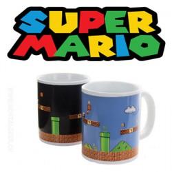 Super Mario Bros Build a level mug thermo-réactif x 1