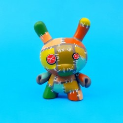 Dunny Los Angelers Series Blaine Fontana Patchwork second hand figure (Loose)