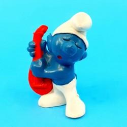 The Smurfs Smurf mandolin second hand Figure (Loose)