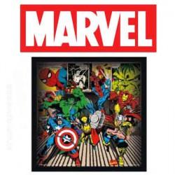 Marvel Avengers toile sur chassis 26 cm