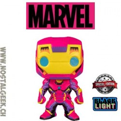 Funko Pop Marvel Iron Man (Black Light) Edition Limitée