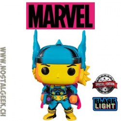 Funko Pop Marvel Thor (Black Light) Edition Limitée