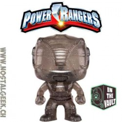 Funko Pop Movies Power Rangers Black Ranger (Teleporting) Edition Limitée Vaulted