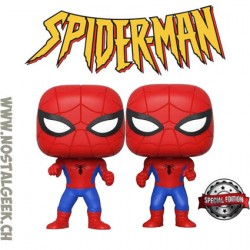 Funko Pop Marvel Pop Spider-Man vs Spider-Man Imposter 2-pack Edition Limitée
