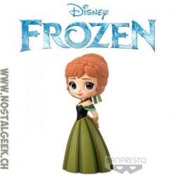Disney Characters Q Posket Frozen Anna Coronation Style Banpresto Figure