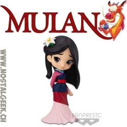 Disney Characters Q Posket Mulan Figure