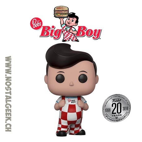 Funko Pop Ad Icons Big Boy Vinyl Figure
