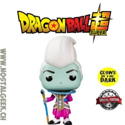 Funko pop Dragon Ball Super Whis Phosphorescent Edition Limitée