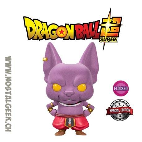 Funko pop Dragon Ball Super Champa Flocked Exclusive Vinyl Figure