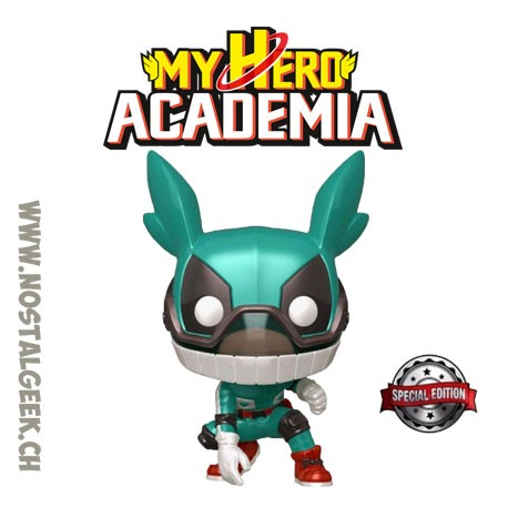 Funko Pop! Anime My Hero Academia Izuku Midoriya (Metallic) Exclusive Vinyl Figure
