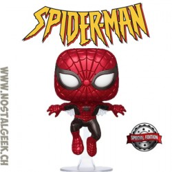 Funko Pop Metallic Spider-Man First Appearance Exclusive Vinyl Figure