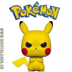 Funko Pop Pokemon Pikachu (Grumpy) Vinyl Figure