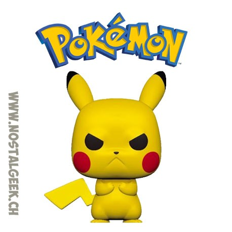 Funko Pop Pokemon Pikachu (Grumpy) Vinyl Figure