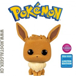 Pop WonderCon 2020 Pokemon Eevee Exclusive Flocked Vinyl Figure