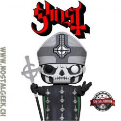 Funko Pop Rocks Ghost Papa Emeritus II Exclusive Vinyl Figure