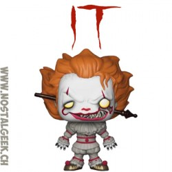 Funko Pop Horror IT Pennywise with Wrought Iron Edition Limitée