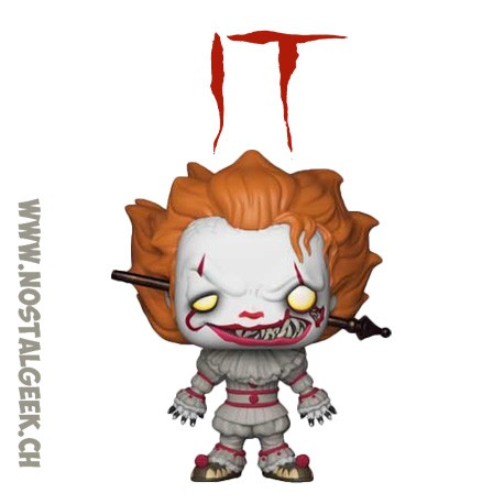 Funko Pop Horror IT Pennywise with Wrought Iron Exclusive Vinyl Figure