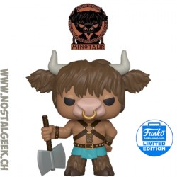 Funko Pop Myths Minotaur Exclusive Vinyl Figure