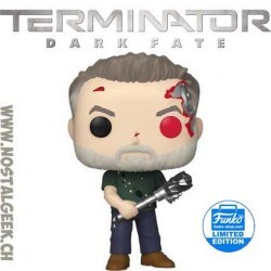 Funko Movies Terminator Dark Fate T-800 (Battle) Vinyl Figure