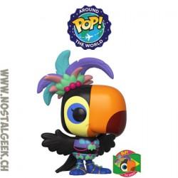 Funko Pop Around the World Tula (Brazil) + Pin's Edition Limitée