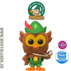 Funko Pop Ad Icons Woodsy Owl Flocked Edition Limitée