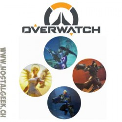 Overwatch Set of 4 3d Coasters