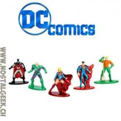 DC Pack de 5 figurines Nano Metalfigs