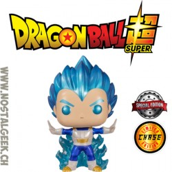 Funko pop Dragon Ball Super Vegeta Powering Up Chase Exclusive Vinyl Figure
