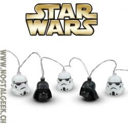 Star Wars Darth Vader et Stormtrooper Guirlande de lumière 3d