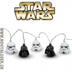 Star Wars Darth Vader et Stormtrooper Helmet 3d String Lights