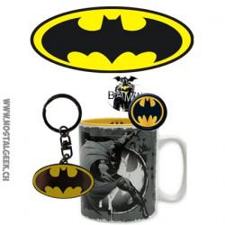 DC Comics Coffret cadeau Batman Mug + Porte-clés + Badges