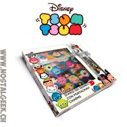 Tsum Tsum journal des Secret + porte-clés charms