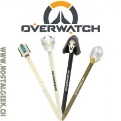 Overwatch pack de 4 Stylos